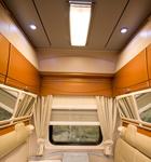 Потолок вагона-купе