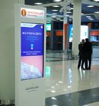 Информационные стойки для аэропорта «Шереметьево»